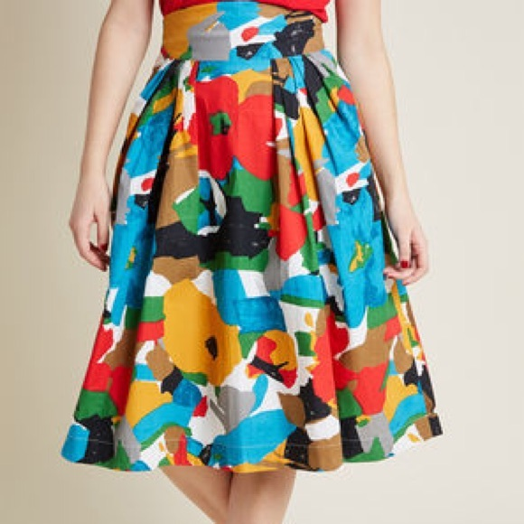 Modcloth Dresses & Skirts - NWT Midi Skirt in Floral